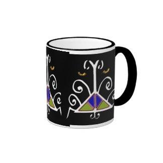 Agassou, Patron Loa of the Home, Family, & Lineage Ringer Coffee Mug