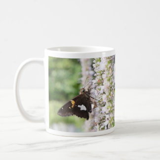 Agastache And Skipper Butterfly Coffee Mug