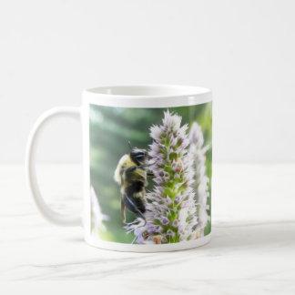 Agastache Flowers With Bumblebee Coffee Mug