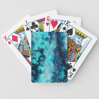 Ágata azul baraja de cartas