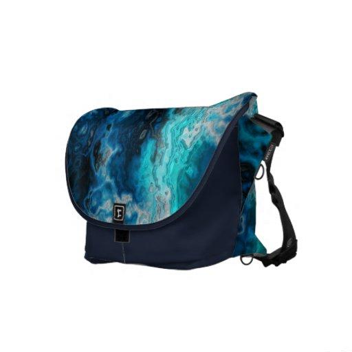 Ágata azul bolsas messenger
