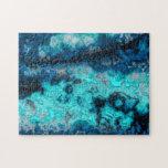 Ágata azul puzzles con fotos