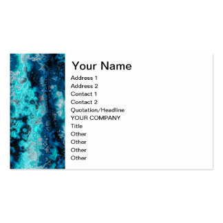 Ágata azul tarjeta de negocio
