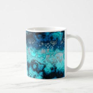 Ágata azul taza