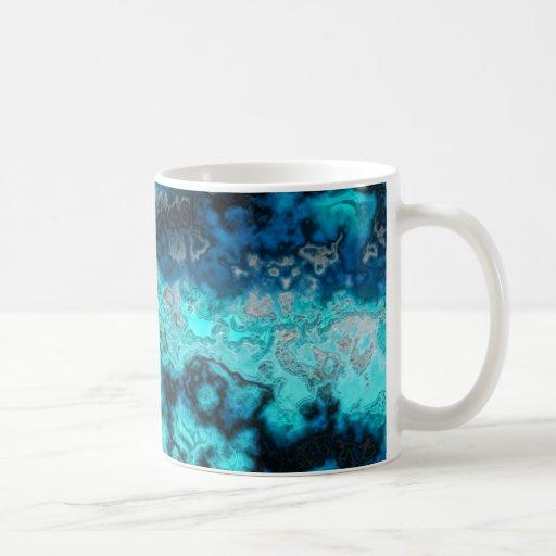 Ágata azul tazas de café