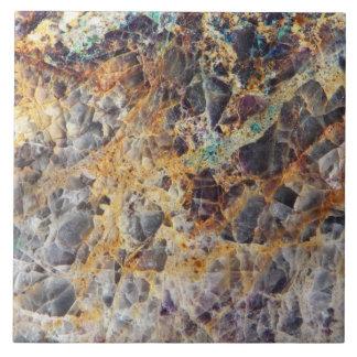Ágata del caleidoscopio azulejo cuadrado grande