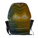 Agate Abstract Art Rickshaw Messenger Bag
