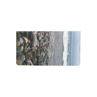 Agate beach 1 checkbook cover