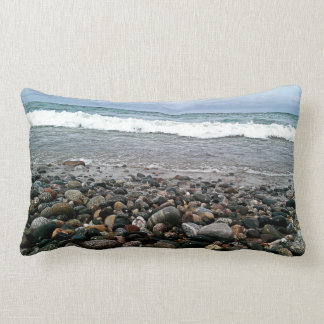 Agate beach 1 lumbar pillow