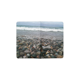 Agate beach 1 pocket moleskine notebook