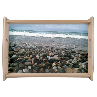 Agate beach 1 serving tray
