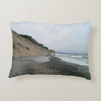 Agate beach 2 decorative pillow