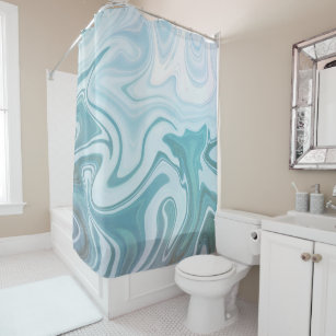 Agate Shower Curtains