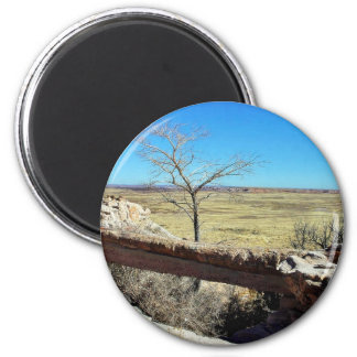 Agate Bridge At The Petried Forest Natural Park Refrigerator Magnet