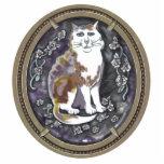 agate cameo cat photo cutouts