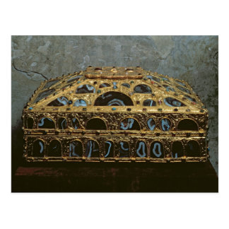 Agate casket postcard
