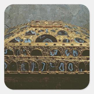 Agate casket stickers