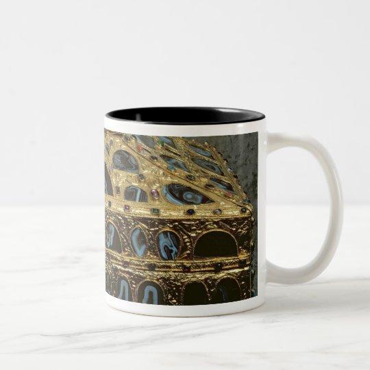 Agate casket Two-Tone coffee mug