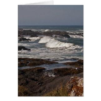 Agate Cove, Oregon Greeting Card