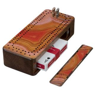 """Agate Cribbage Board"""