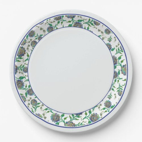 Agate Flower3 - Paper Plates 9