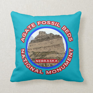 Agate Fossil Beds National Monument Throw Pillow