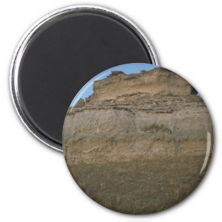 agate fossil beds national park rock mound magnet