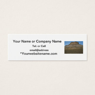 agate fossil beds national park rock mound mini business card