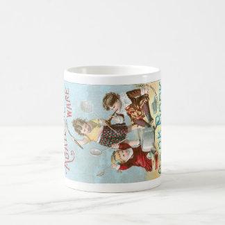 Agate Iron Ware Vintage Cookbook Ad Art Coffee Mug