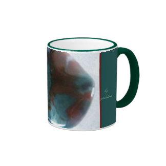 Agate of Teal and Garnet Coffee & Tea Mug