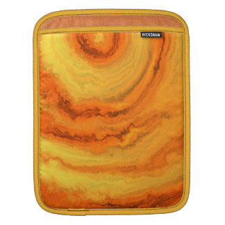 AGATE ORANGE GOLD iPad SLEEVE