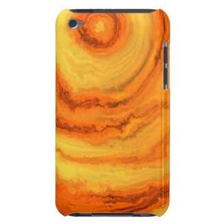 AGATE ORANGE & GOLD iPod TOUCH Case-Mate CASE