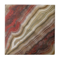 Agate Pattern Ceramic Tile