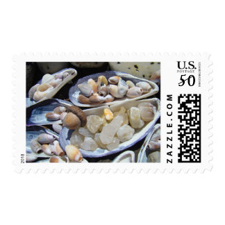 Agate Rocks postage stamps Agates Shells Beaches