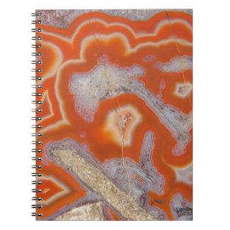 Agate sample spiral notebook