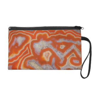 Agate sample wristlet purse
