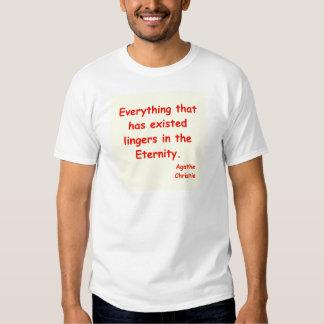 agatha christie eternity t shirt