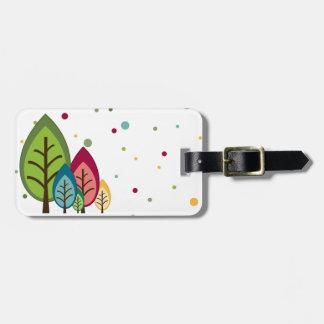 Agatha Forest Luggage Tag