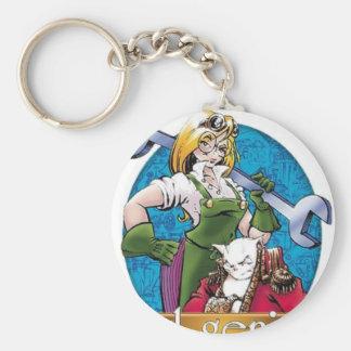 Agatha Hetrodyne - Girl Genius Basic Round Button Keychain