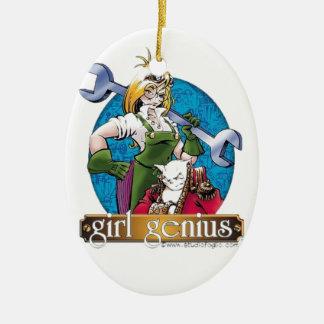 Agatha Hetrodyne - Girl Genius Ceramic Ornament