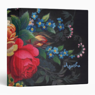 Agatha Victorian Bouquet Binder