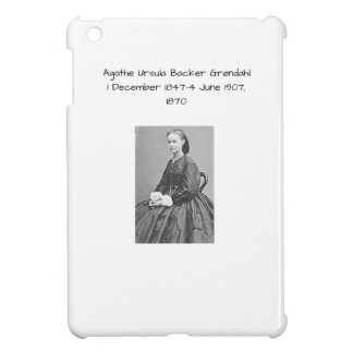 Agathe Ursula Backer Grondahl, 1870 Cover For The iPad Mini