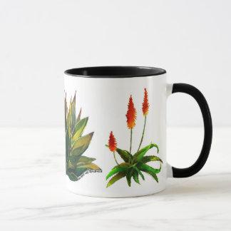 Agave and aloes coffee mug