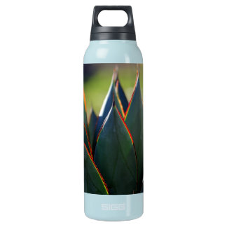 Agave Blue Glow Insulated Water Bottle