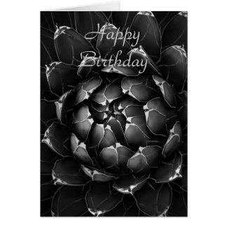 Agave Cactus Happy Birthday Card