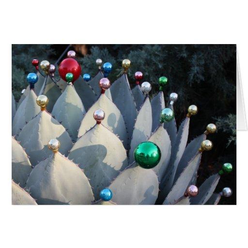 Agave Christmas Card by Debra Lee Baldwin