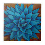 Agave II Small Square Tile