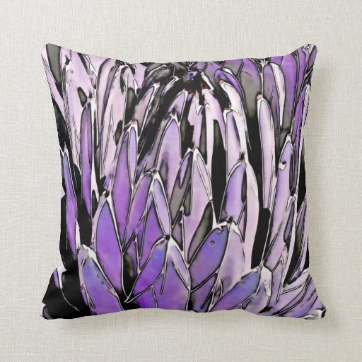 Agave in Lavender Pillows