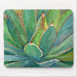 """Agave mousepad<br><div class=""""desc"""">By Debra Lee Baldwin,  award-winning photojournalist,  artist and author of two best-selling books: Designing with Succulents and Succulent Container Gardens. www.debraleebaldwin.com</div>"""