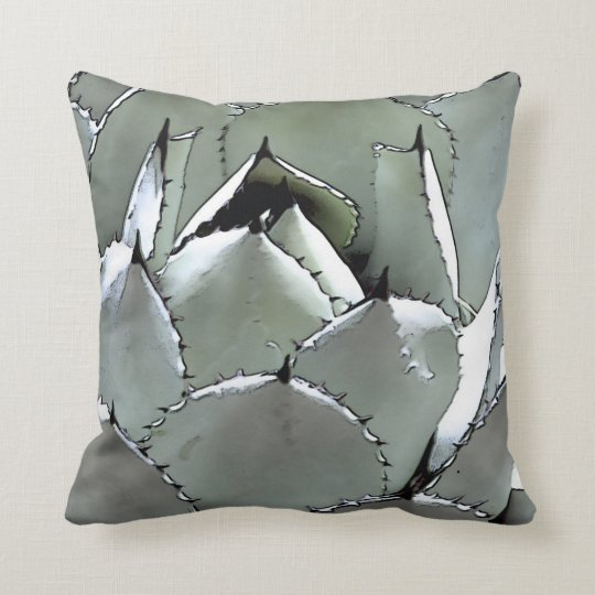 Agave, pillow